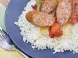Easy Weeknight Tri-Color Sausage and Peppers