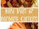 Ethiopian Key Wat with Berbere Roasted Carrots #RawSpiceBar