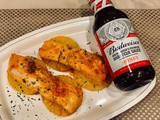 Foil Pack Barbecue Pineapple Salmon on the Grill #ad #budweisersauces