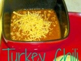 Lightened Up Turkey Chili with Canellini Beans