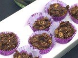 No Bake Almond Butter, Oat & Chocolate Bites