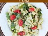 Quick & Easy Bowtie Pesto Pasta Salad
