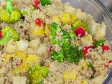 Refreshing Quinoa Salad with Pear & Mango