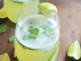 Coconut Water Pineapple Mint Lime Mojito
