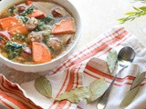 Paleo Chicken Sausage and Sweet Potato Soup