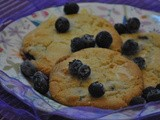 Blueberry, Lemon and White Chocolate Cookies