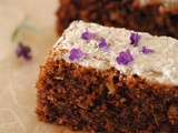French Lavender Brownies