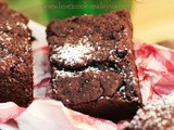 Chewy Gooey Horlicks Brownies