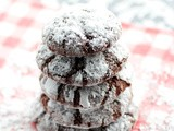 Chocolate Crinkles & merry christmas
