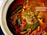 Claypot fish curry