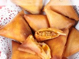 ♥...Potato Samosa (using spring roll sheets)...♥