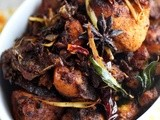Spicy Chicken Varuval with Shredded Lemongrass