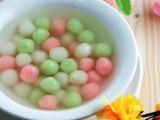 Tangyuan (Glutinous Rice Balls) in Sweet Ginger Syrup