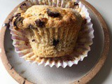 Coffee Shop Style Giant Chocolate Chip Muffins