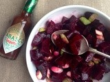 Fiery beetroot salad
