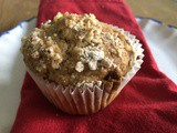 Gingerbread Spiced Muffins with a Crumble Topping