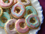 Homemade Party Rings (Iced Ring Biscuits)