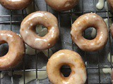 Krispie Kreme Doughnuts – no dairy or eggs here