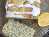 Lemon and Poppy Seed Yogurt Loaf Cake