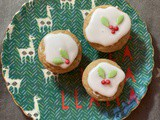 Mini Christmas Muffins (with a mince pie version)