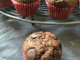 Mini Double Chocolate Muffins