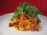 Oven-baked Risotto with Roasted and Sun-dried Tomatoes