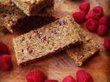 Raspberry and Lemon Flapjacks
