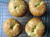 Rosemary and Olive Oil Bagels (aka Focaccia Bagels)
