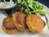 Smoked Paprika and Parsley Falafel Patties (with Lemon Egg-free Mayo)