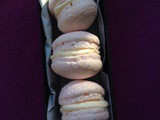 Strawberries & cream macarons – egg-free and nut-free