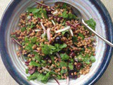 Tapenade couscous salad