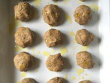 Vegetarian 'Swedish Meatballs' and mustard cream sauce – dairy-free, egg-free and nut-free
