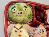 Angry Birds Onigiri Lunch Box Recipe (Part ii)