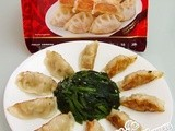 Appetizing cp Chicken Gyoza With Spinach