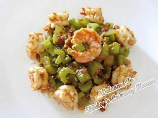 Awards & Happy Call Recipe: Spicy Celery Prawns