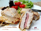 Baked Cheesy Chicken Fillets with Ham, Finger Lickin' Good