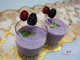 Blackberry Grape Smoothie, Top Antioxidant-Rich Fruits