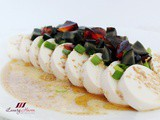 Chilled Tofu with Century Egg Appetizer Recipe, 凉拌皮蛋豆腐