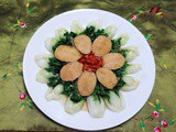 Chinese New Year Limpets with Nai Bai Vegetables ( 小鲍炒奶白菜 )