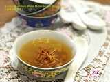 Cordyceps Militaris Winter Melon Soup in Slow Cooker ( 蟲草花冬瓜汤 )
