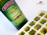 Freezing Your Fresh Herbs in Olive Oil For Preservation