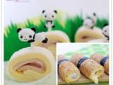 Ham and Cheese Sushi Rolls and Cute Pinwheels Party Recipe