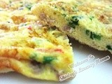 Happy Call Recipe: Fluffy Minced Pork Omelette (肉碎煎蛋)