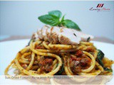 Leggo's Pesto Sun-Dried Tomato Pasta With Pan-Fried Chicken