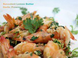 Lemon Butter Garlic Prawns, Fresh Seafood From PurelyFresh