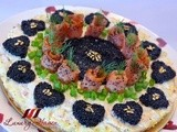 Mother's Day Savory Smoked Salmon Caviar Tart Recipe