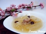 Paradise Pear Soup With Snow Fungus (乐天银耳雪梨汤)
