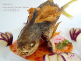 PurelyFresh Fresh Seafood + Deep-Fried Golden Pomfret Recipe