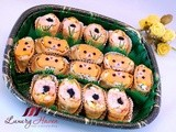 Rilakkuma Inari Age Bento Potluck Fun Party Food Recipe