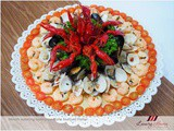 Sauvignon Blanc Seafood Platter Recipe with Emerald Crawfish